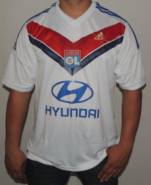 907a0be5bc Camisa Lyon I 2013 2014 - 4U Roupas e Acessórios